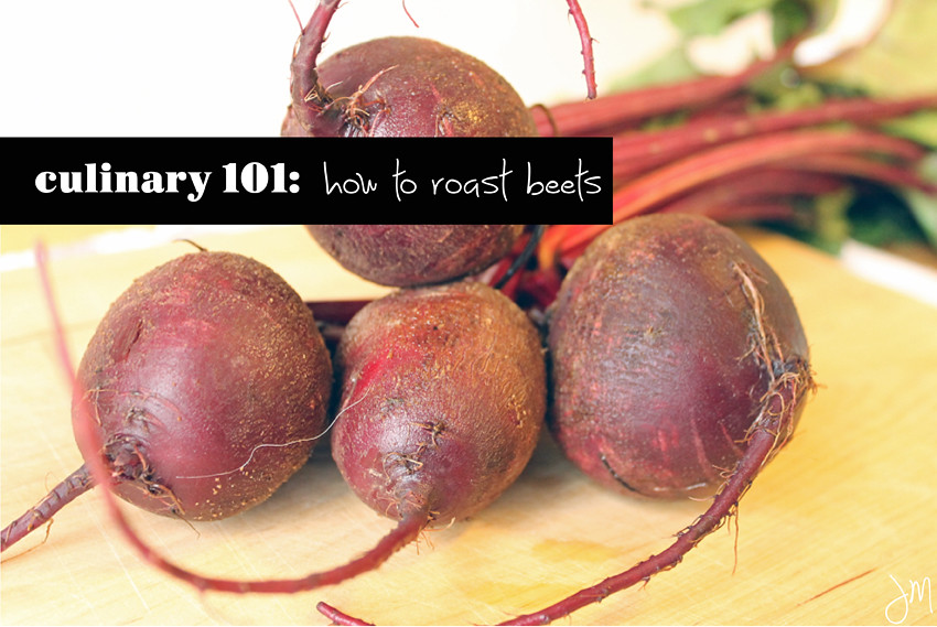 Julip Made culinary 101 how to roast beets8