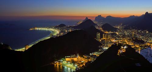 Nighttime Rio