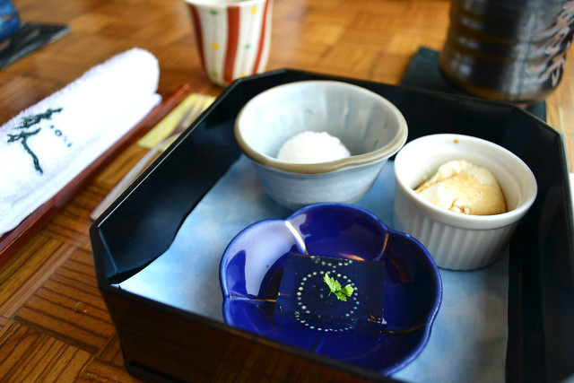 Lunch Set Dessert, Aoki