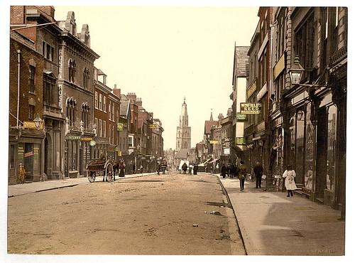 [Westgate Street, Gloucester, England]  (LOC)