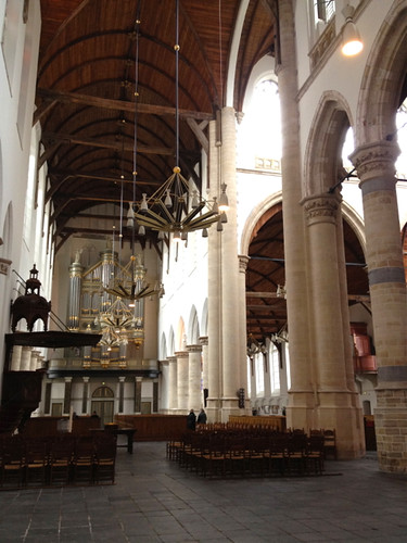 Old Church Delft - interior