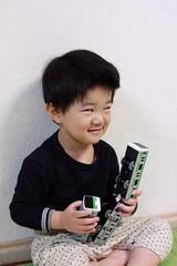 たくらんでるとらちゃん 2013/4/7
