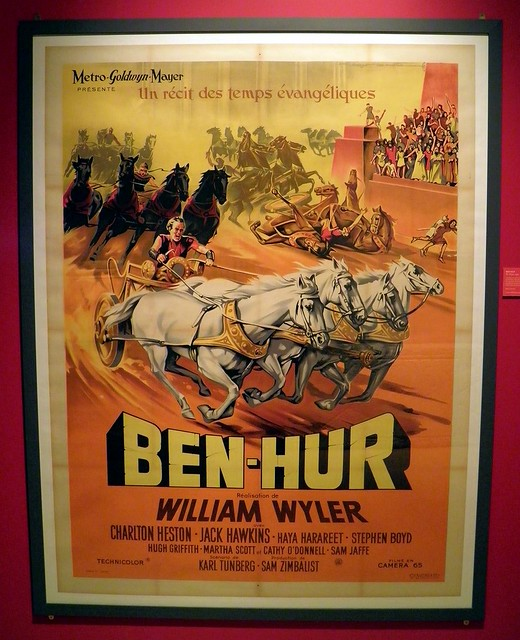 Ben-Hur (French poster), William Wyler (1959)