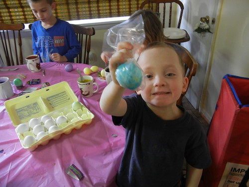 March 29 2013 Dying Easter Eggs, at the Clarks (3)