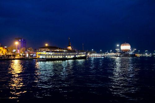 Boat back to Karaköy