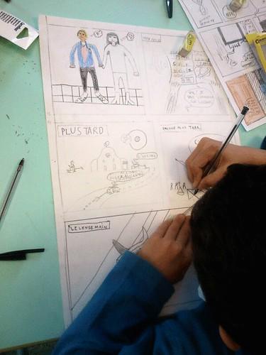 Festival BD Decines - Atelier 10 ans