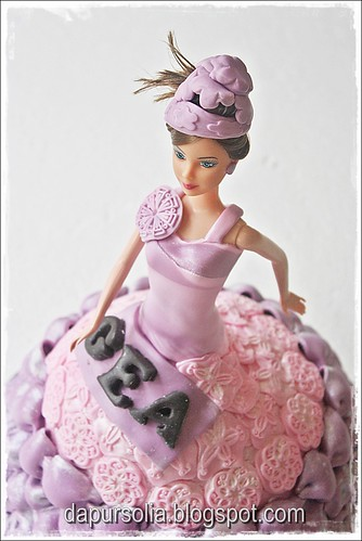 Barbie Cake for Gea