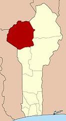 阿塔科拉省位置圖