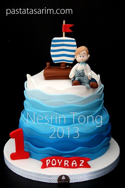 1st birthday cake- poyraz