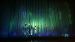 aurora, light, stage, darkness,