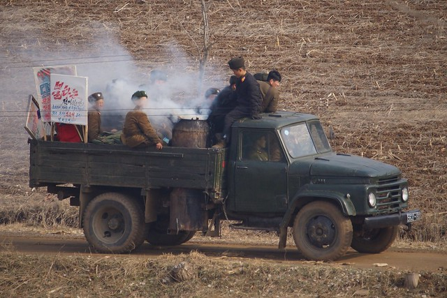 Wood Gasification Powered Truck North Korea