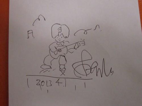 永島志基氏の描いた漫画 2013年4月13日21:45 by Poran111