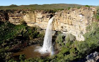 Espectacular cascada en el río Doorn.