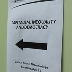 Capitalism, Inequality, and Democracy - April 2013