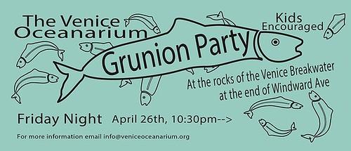 Venice Beach Grunion Run