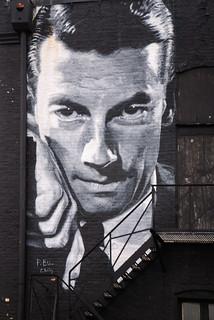 Hoagy Carmichael Mural