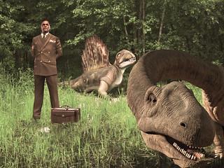 Il difficile ritorno, divagazioni con un dinosauro filosofo