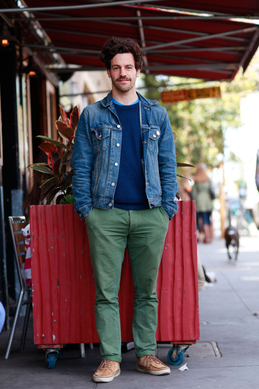 denim2 street style, street fashion, men, San Francisco, Valencia Street