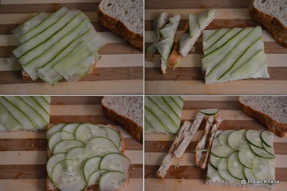 Easy Cucumber Sandwich