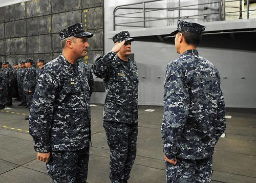 Change Of Command on April 18, 2013