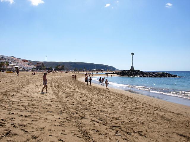Sandy Las Vistas Beach, Los Cristianos, Tenerife