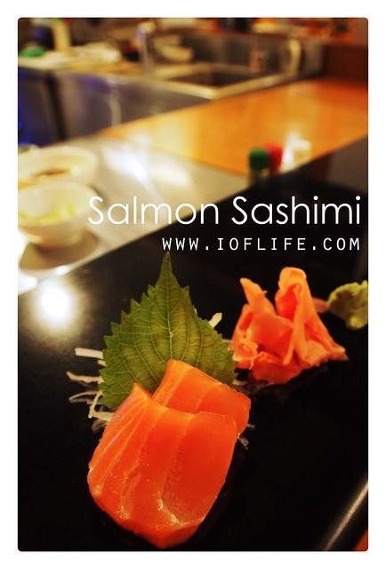salmon sashimi umaku