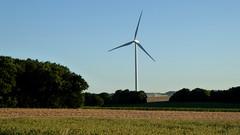 Eolienne en France - Windmill in France