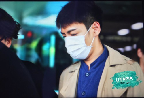 Big Bang - Gimpo Airport - 07jun2015 - TOP - Utopia - 02