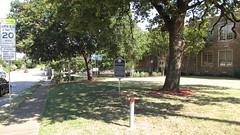 Tenth Street Historic District Freedmen's Town TxHM vicinity