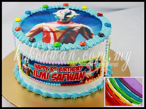Rainbow Cake + Edible Image
