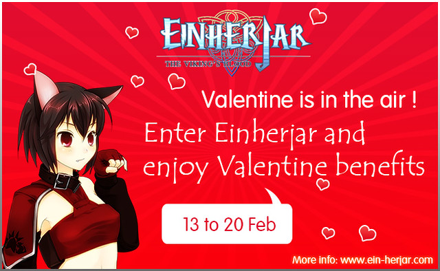 Valentine's Day is coming to Einherjar