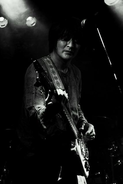 JIMISEN live at Outbreak, Tokyo, 25 Jan 2013. 554