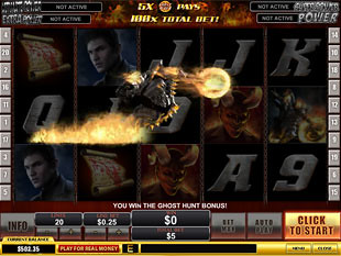 free Ghost Rider bonus game