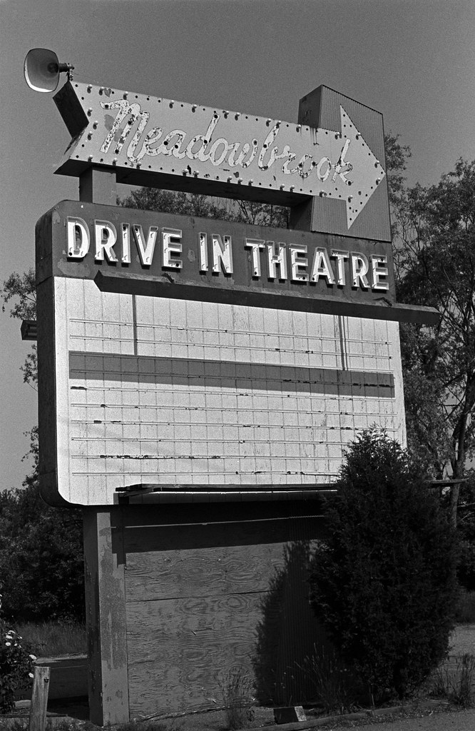 Meadowbrook Drive In Sign