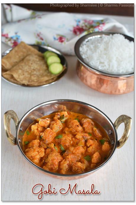 Gobi Masala Gravy Recipe