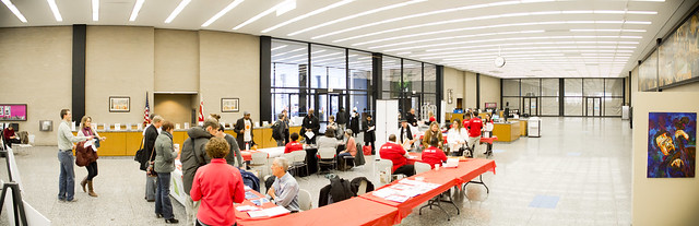 flickr photo of the information fair