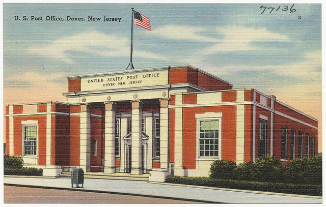 U.S. post office, Dover, New Jersey | Flickr - Photo Sharing!