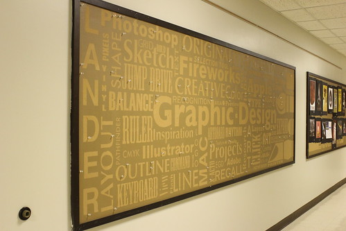 4:19 PM: The Graphic Design bulletin board