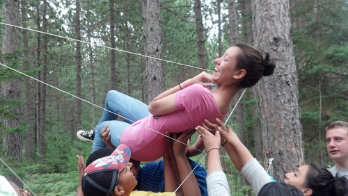 Wilderness Retreat - Spiderweb Trust Activity