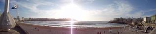 Imagen de Praia do Orzán Playa del Orzán cerca de A Coruña. blue sky españa sun sol beach water azul wow amazing spain sand coruña waves sony awesome wave playa arena galicia galiza cielo incredible coruna corunna corunha acoruña orzán playadelorzán dscw610 korunia sonydscw610