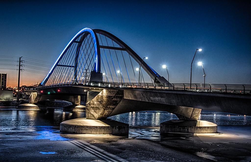 Lowry Bridge at Night - Minneapolis