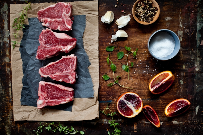 Lamb Chops & Blood Orange Sauce Ingredients