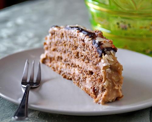Homemade Esterhazy Cake