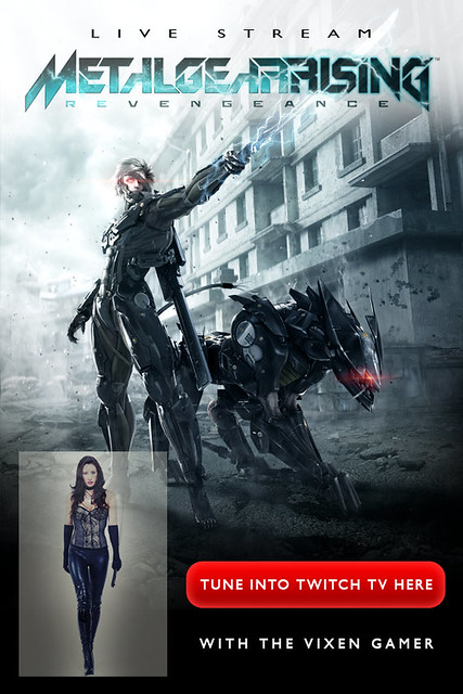Metal Gear Rising: Revengeance Live Stream Hosted By Mindscape & The Vixen Gamer