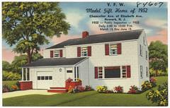 V. F. W. model gift home of 1952, Chancellor Ave. at Elizabeth Ave., Newark, N. J.