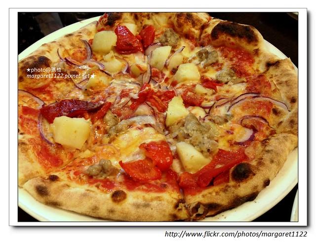 【台北異國料理】Zoca Pizzeria Caffetteria 佐卡義式窯烤披薩屋