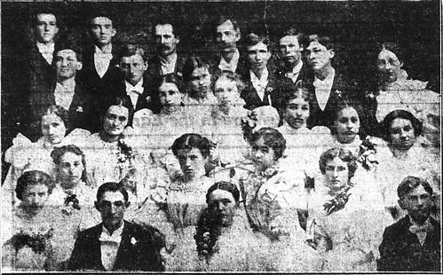 Joplin High School graduates 1897