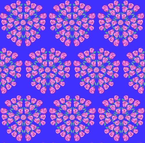 Many Kaleidoscope Roses by randubnick
