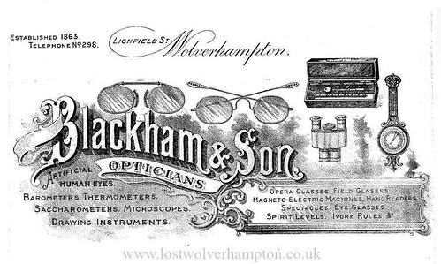 Blackhams Letterhead. Blackham late of 64 Queen Street.