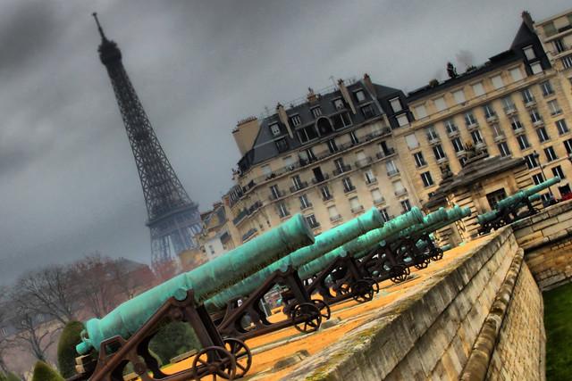 Les Canons de Paris